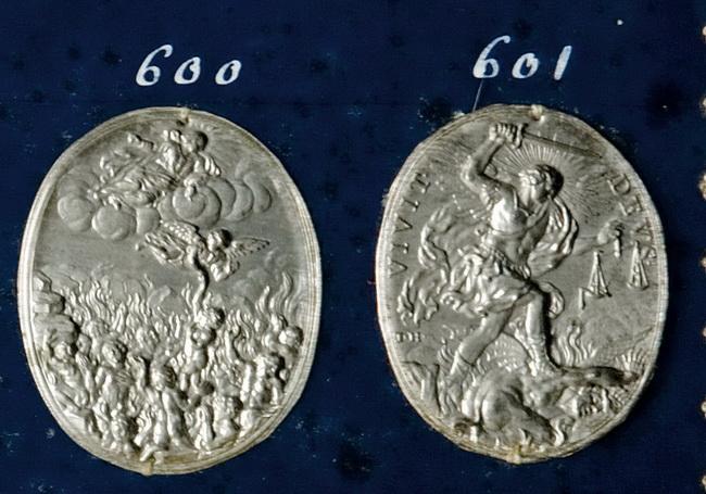 San Miguel Arcángel / Almas del purgatorio - Hamerani (R.M. SXVII-O370) 600_6010