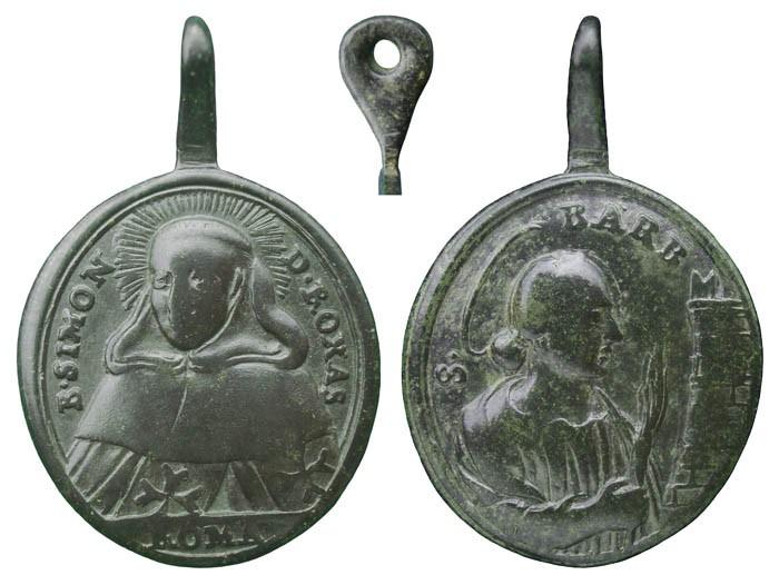 Beato Simón de Rojas / Santa Barbara - MR(293) Beato_10
