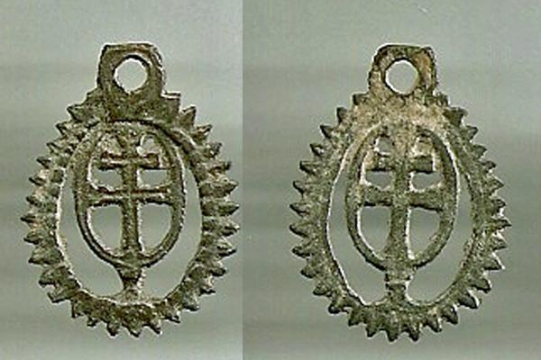 Medalla-cruz  de CARAVACA - (Ventana) s.XVIII-XIX (R.M. PFV-Caravaca 1) Cruz_c10