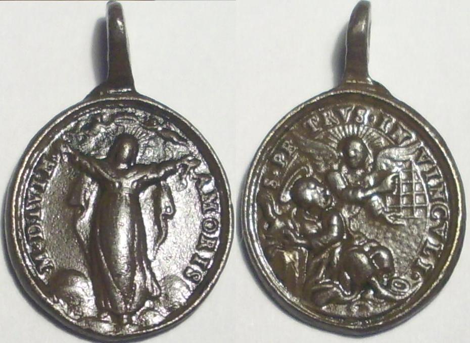 Madonna del Divino Amor / S. Pedro encadenado S.XVIII Divino10
