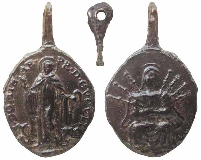 San Domingo de Sora Abad  / Virgen Dolorosa - MR(156)  Doming11