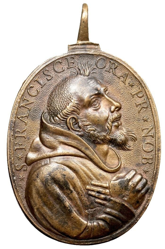 S. Pedro de Alcántara / S. Francisco de Asís - Alberto Hamerani (R.M. SXVII-O) F017_b10
