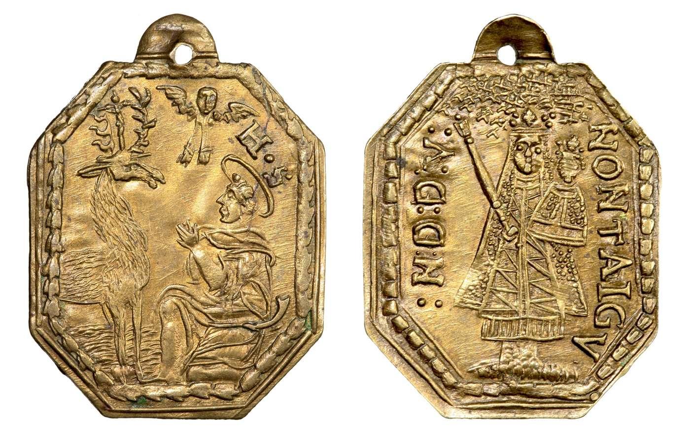 San Huberto de Lieja / N. Dame de Montaigu s. XVIII (R.M. SXVIII-P81)(MAM) Hubert10