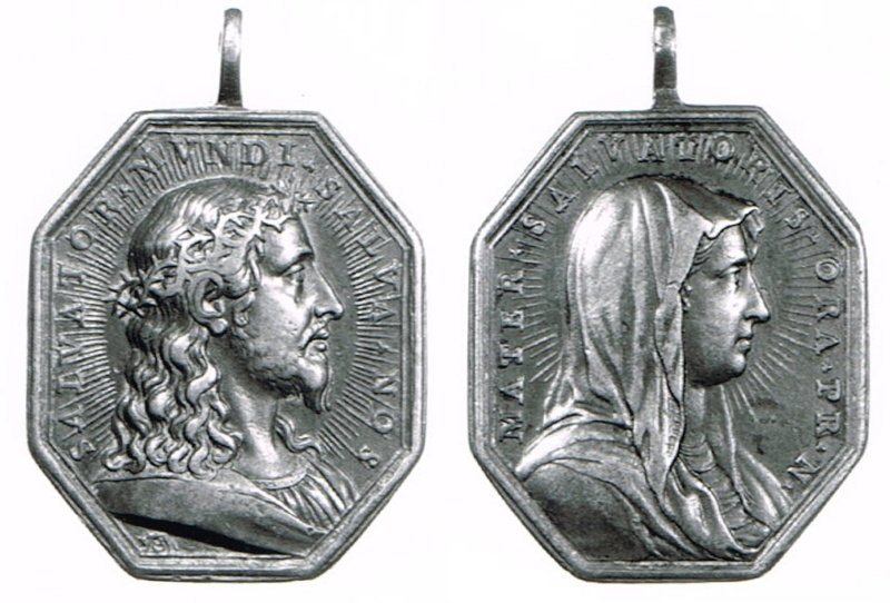 SALVATOR MVNDI/MATER SALVATORIS (BNF-18) (Hamerani) Jesucr24