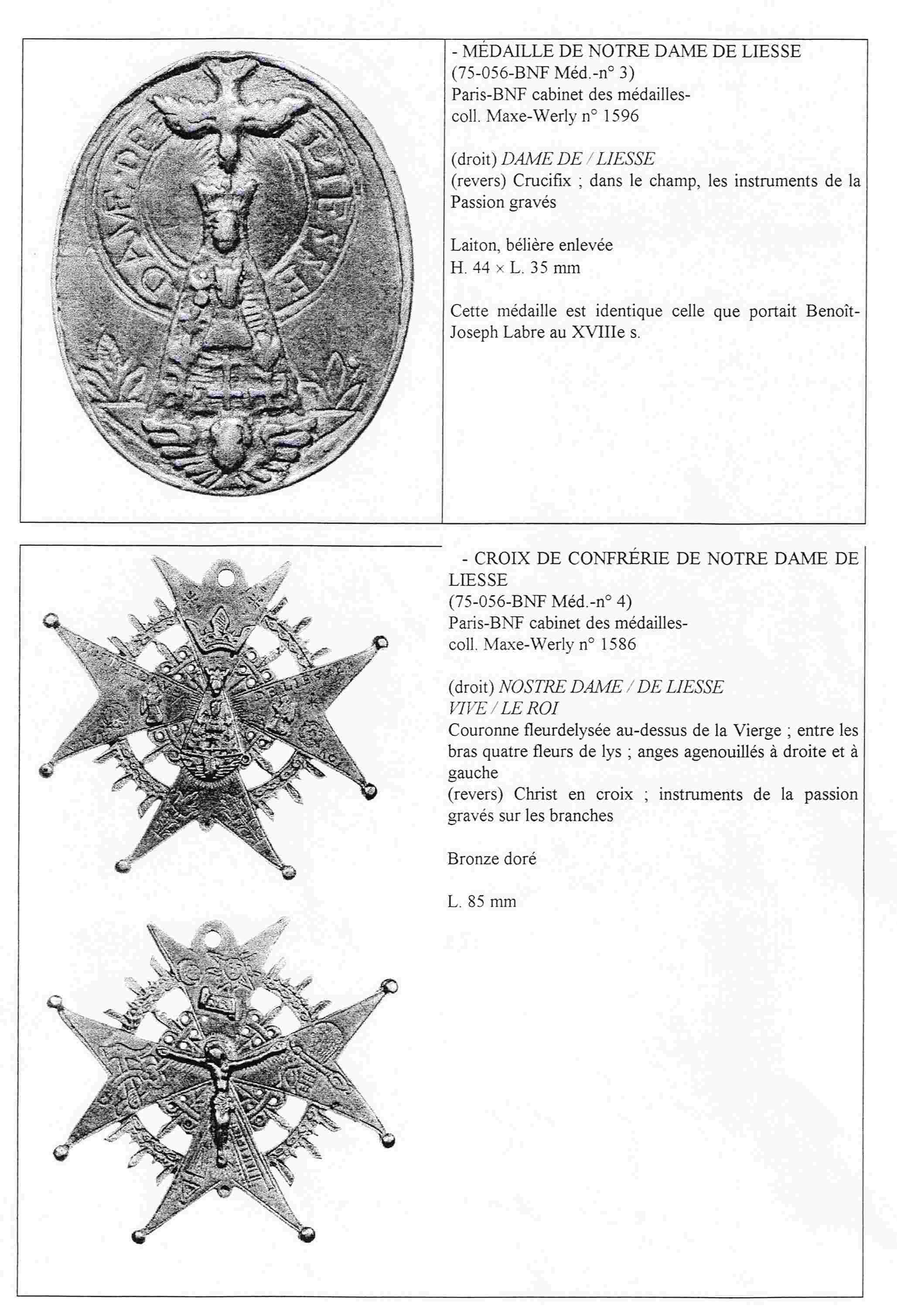 N. D. LIESSE/OTRAS ICOGRAFIAS. N.D. DU PUY. Liesse10