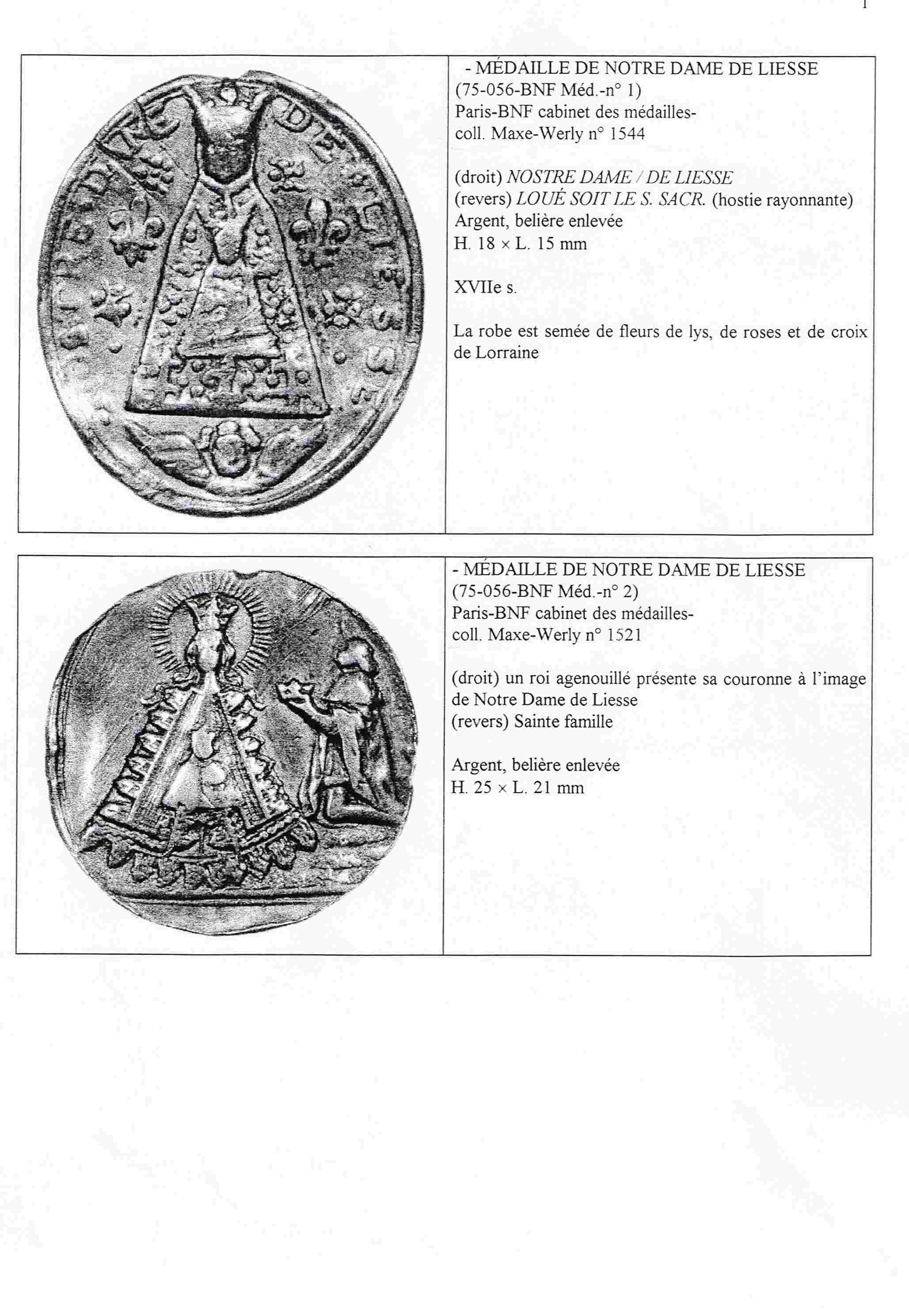 N. D. LIESSE/OTRAS ICOGRAFIAS. N.D. DU PUY. Liesse11