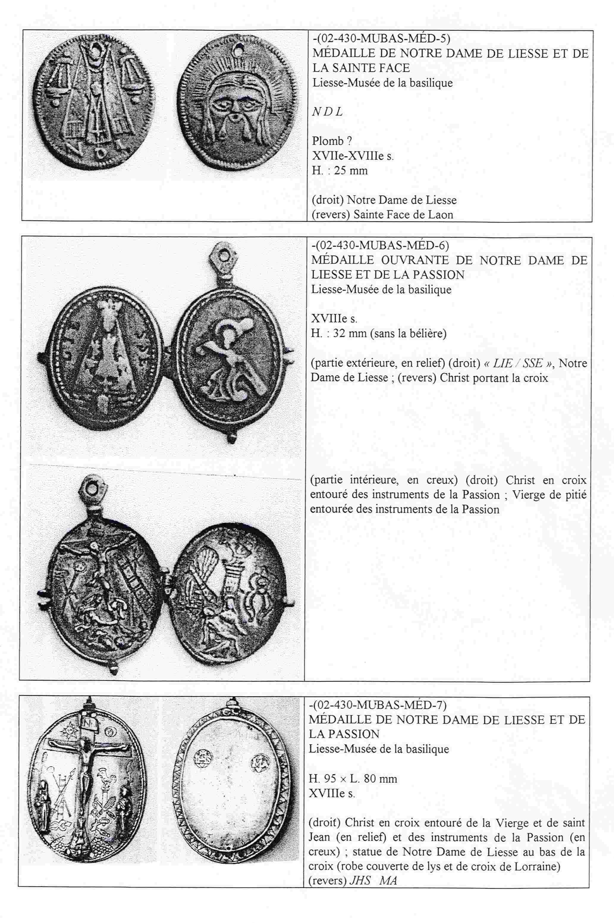 N. D. LIESSE/OTRAS ICOGRAFIAS. N.D. DU PUY. Liesse13