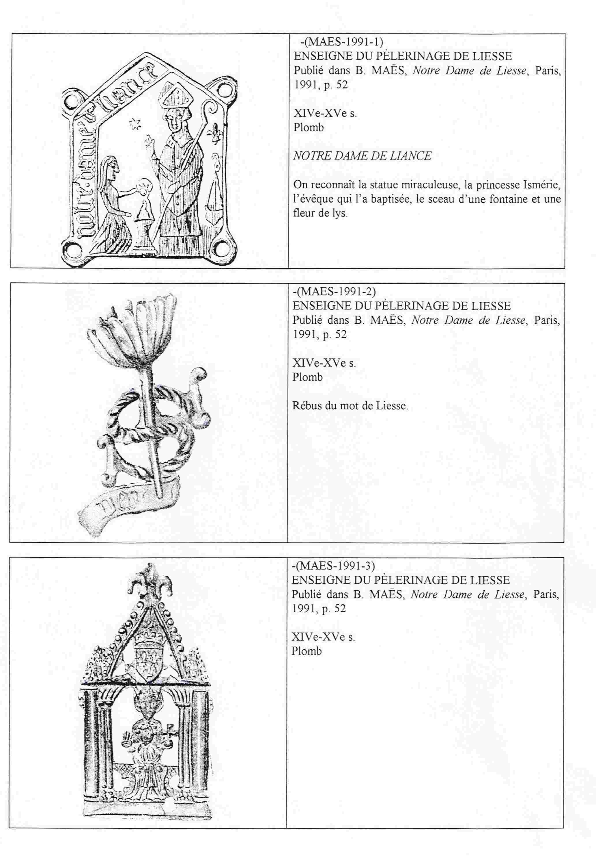 N. D. LIESSE/OTRAS ICOGRAFIAS. N.D. DU PUY. Liesse17