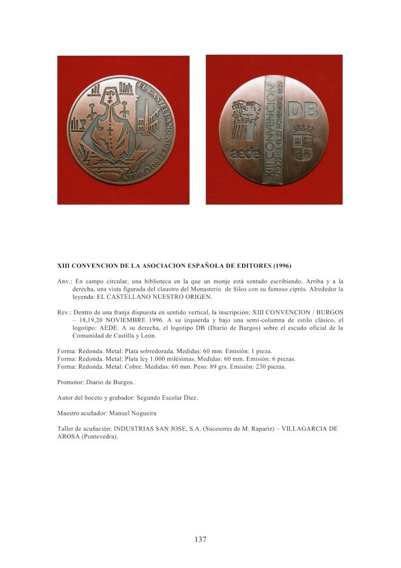 MEDALLÍSTICA BURGALESA por Fernando Sainz Varona - Página 6 Medal133