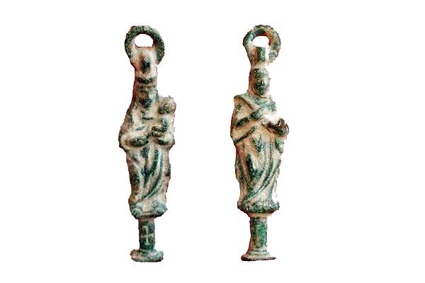pilar -  Pilar / Santa  Engracia Figurada s.XVII-XVIII (R.M. PFV-Engracia 1 y Pilar 4) Pilar-11