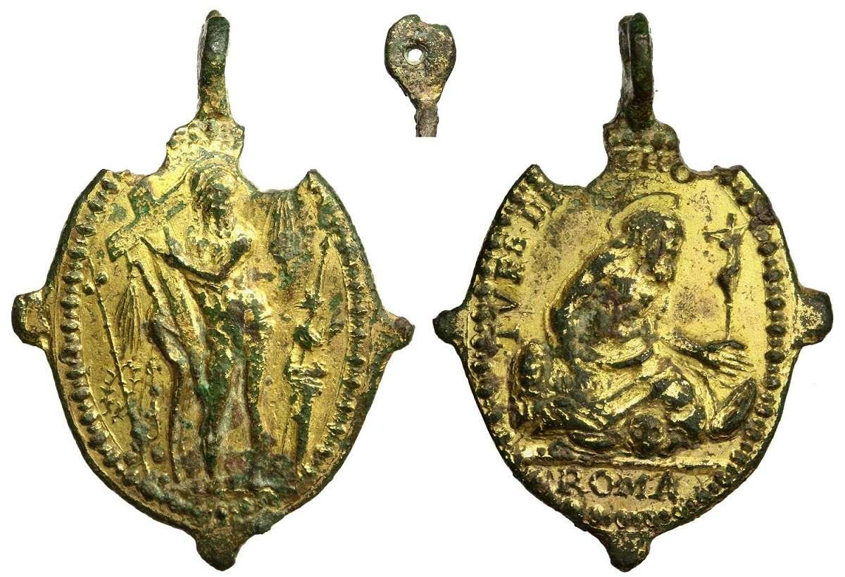 medaglia Giubileo 1575 Resuci10