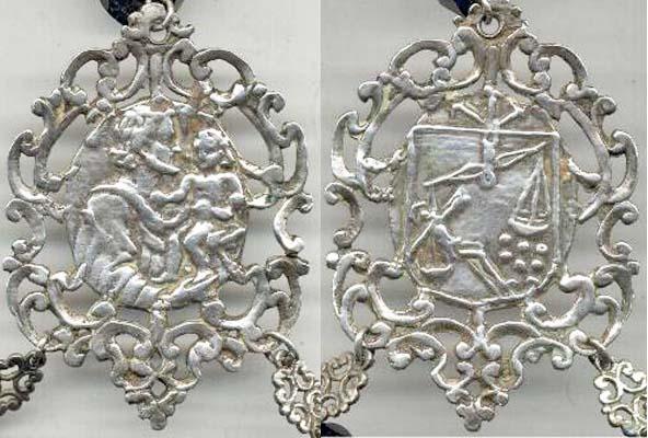 Medallón San José - Cristo del Rescate de Valencia (Ventana) (R.M. PFV- José 2 Rescate 1) San_jo11