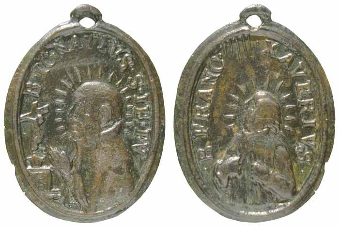 Beato Ignacio de Loyola / Beato Francisco Javier - MR(281) (RM SXVII-O205) Sxvii-11