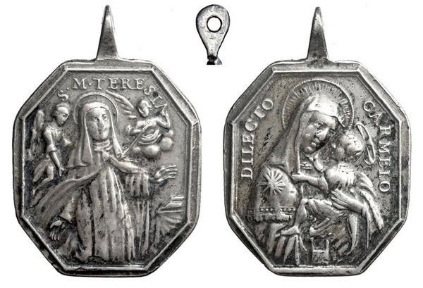 Recopilación medallas Orden Carmelitas Descalzas: Santa Teresa de Jesús Teresa11