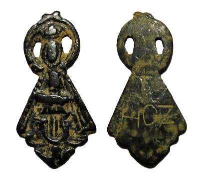 Virgen rotulada como de la Hoz con icono de la de Henar (R.M. PFV Hoz 1) Virgen11