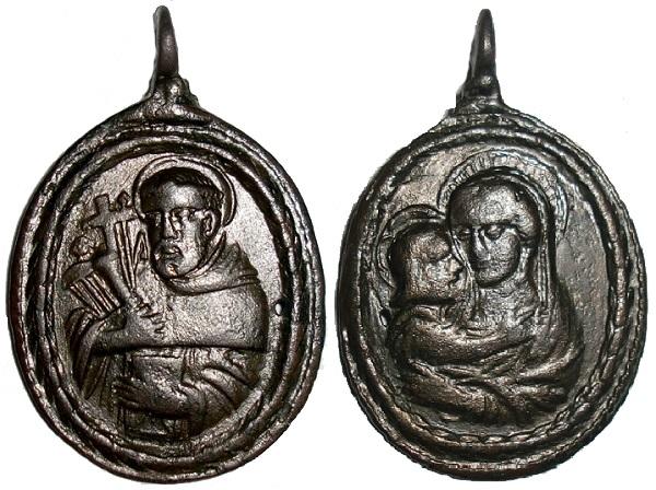 San Bernardo de Claraval y Virgen Maria de Vico (Mondovi) (MAM) Virgen12