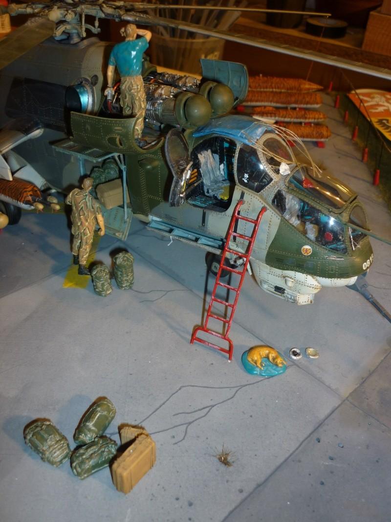 Meeting Tiger meet hélicoptère ; MIL MI 24 HIND E Trumpeter 1/35 et GAZ 66 Eastern Express  -1/35 - Page 2 P1040910