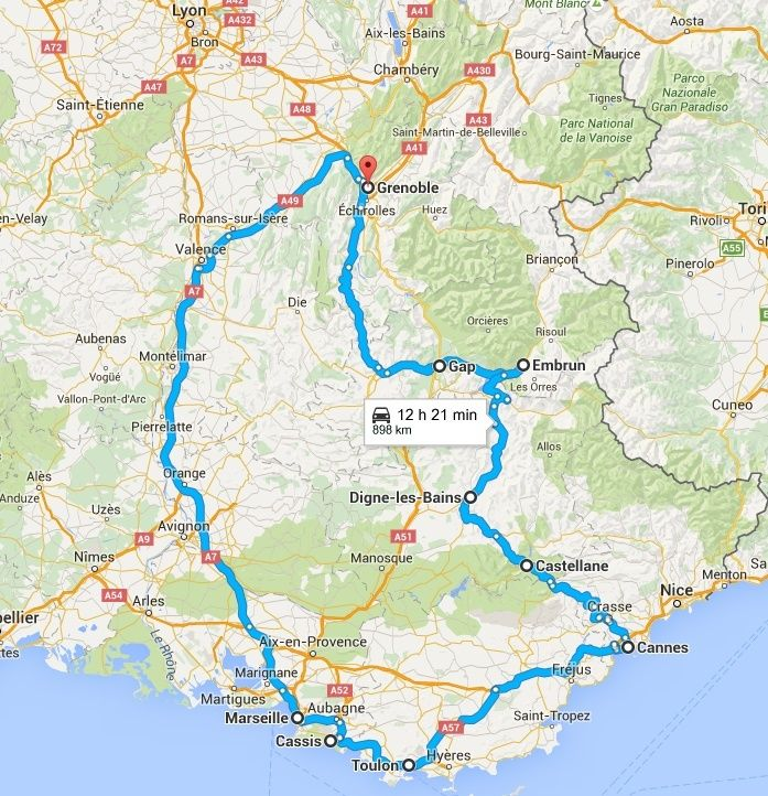 CROSSFIRE TOUR 2016 : Route Napoléon - 5/6/7 mai 2016 Captur10