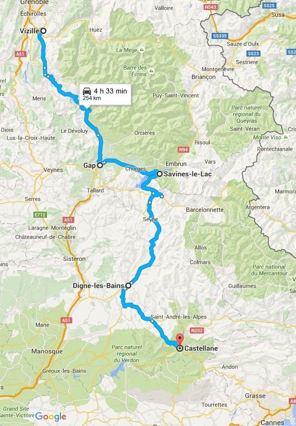 CROSSFIRE TOUR 2016 : Route Napoléon - 5/6/7 mai 2016 Captur15