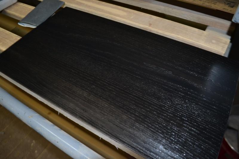 Fabrication d'une table basse en frêne teinté noir Dsc_0038