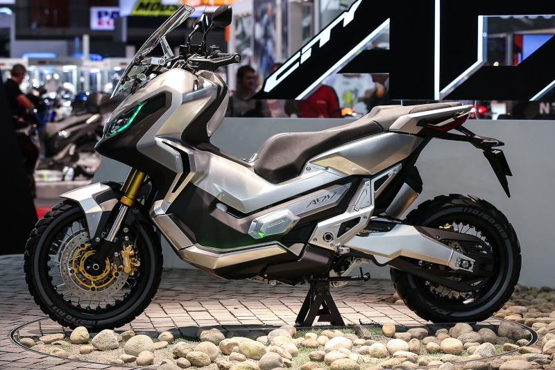 Integra X-ADV un Scoot- Trail Honda très attachant Honda-10