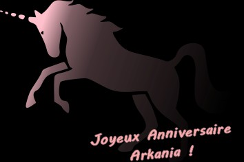 Bon Anniversaire Arkania Arkani10