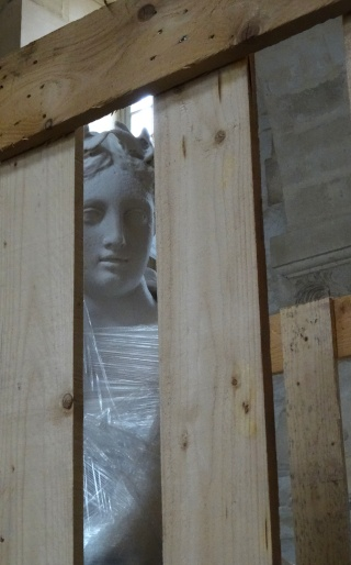 Visite à l'atelier de restauration des sculptures du C2RMF Dsc05512