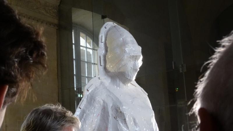 Visite à l'atelier de restauration des sculptures du C2RMF Dsc05513