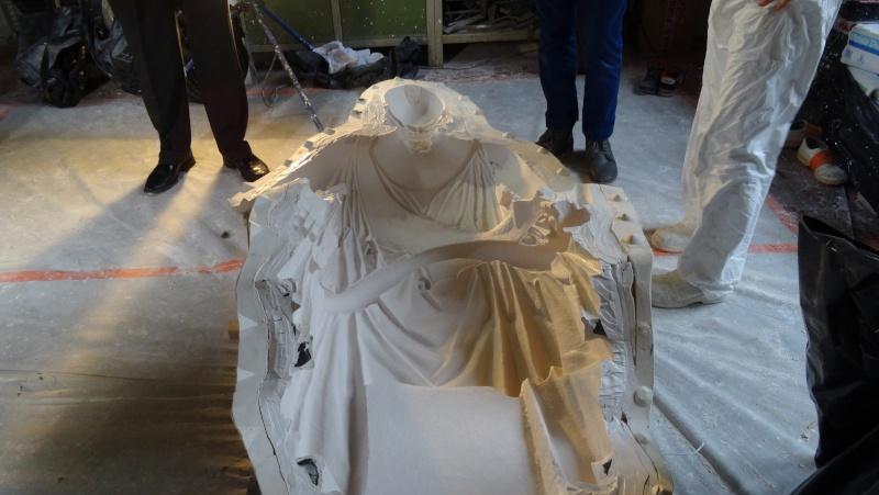 Visite à l'atelier de restauration des sculptures du C2RMF Dsc05523