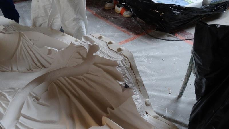 Visite à l'atelier de restauration des sculptures du C2RMF Dsc05524