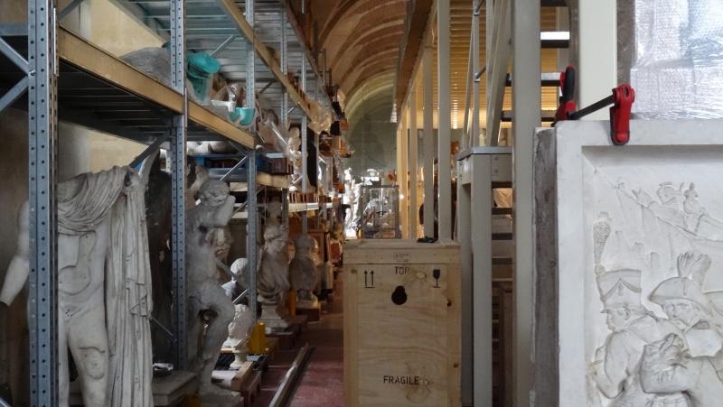 Visite à l'atelier de restauration des sculptures du C2RMF - Page 2 Dsc05531