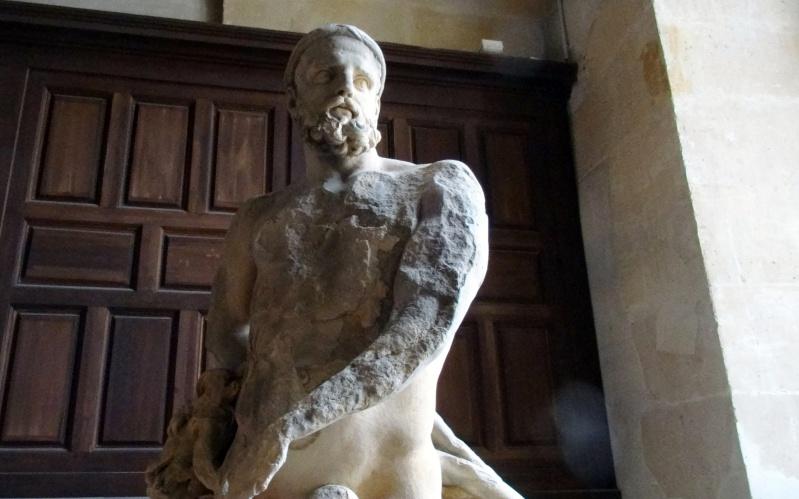 Visite à l'atelier de restauration des sculptures du C2RMF - Page 2 Dsc05537
