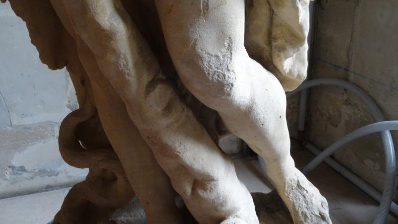 Visite à l'atelier de restauration des sculptures du C2RMF - Page 2 Dsc05538