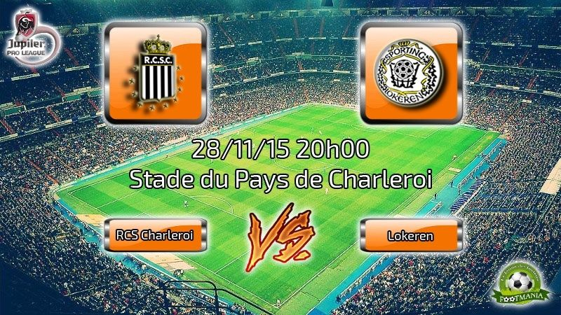 Charleroi vs Lokeren • 28/11/15 Rcscvs10