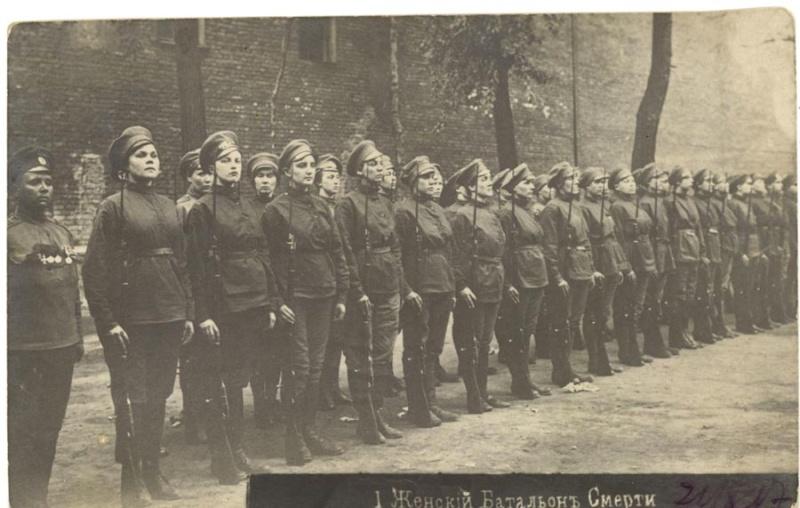 Les femmes Russes dans la grande Guerre Bat_fe15