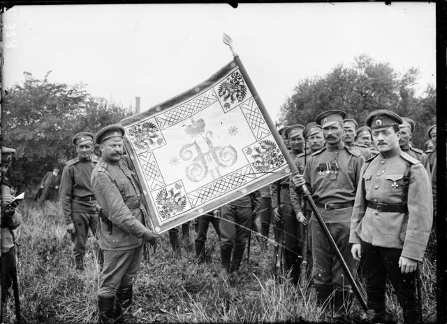 Les brigades Russes en France Drapea11