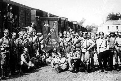 Les brigades Russes en France Lacour12