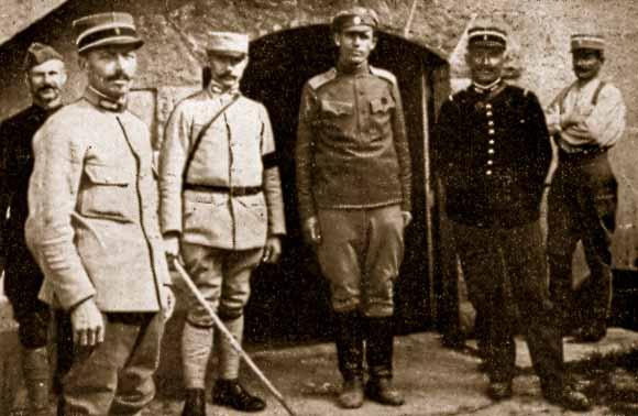 Les brigades Russes en France Lacour17