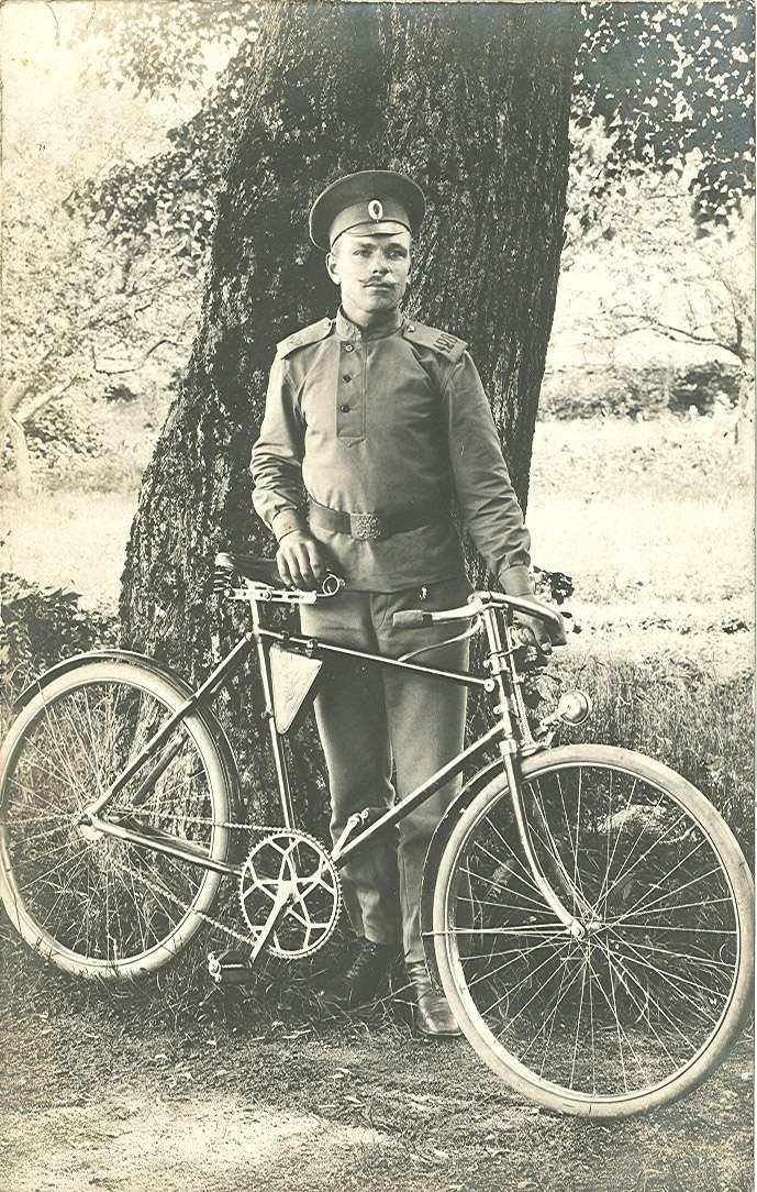 Les cyclistes et leurs matériels. Vylo_r20