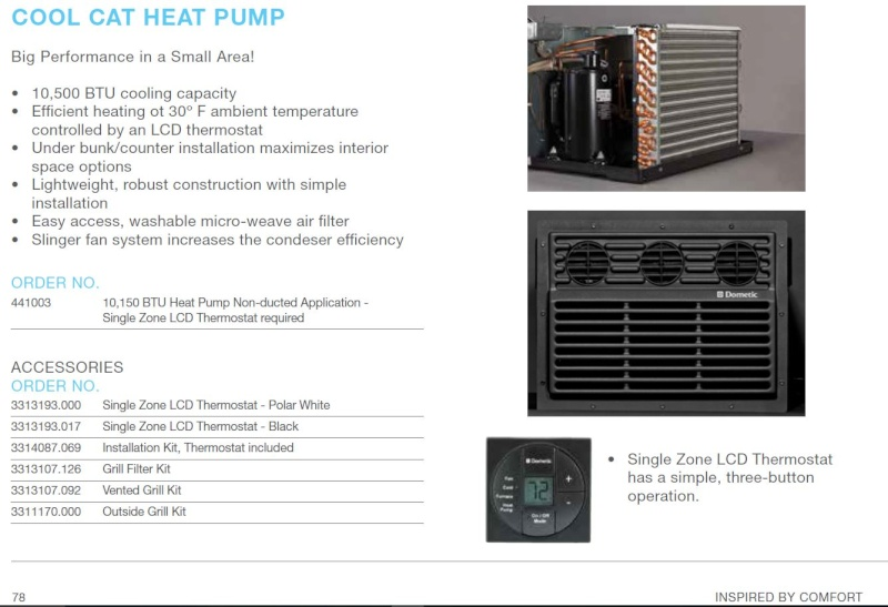 info air climatisé DUO-THERME COOL CAT HEAT PUMP Captur11