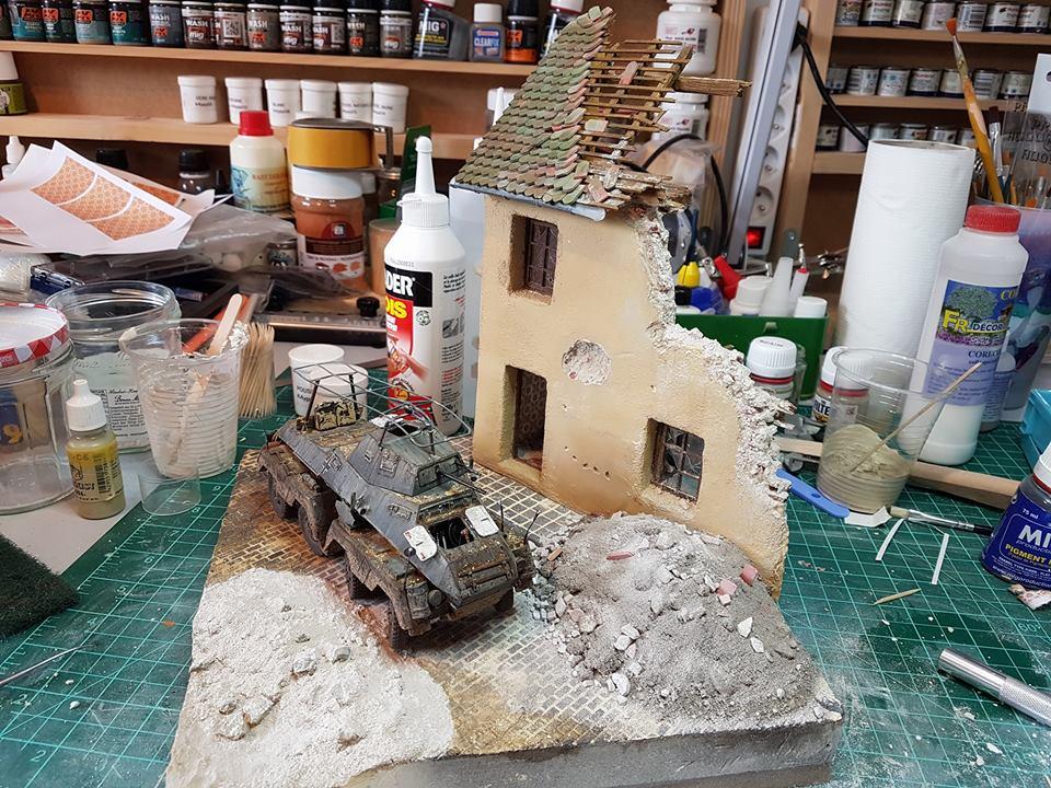 diorama - Diorama SDKFZ 232 (suite et fin) 35077610