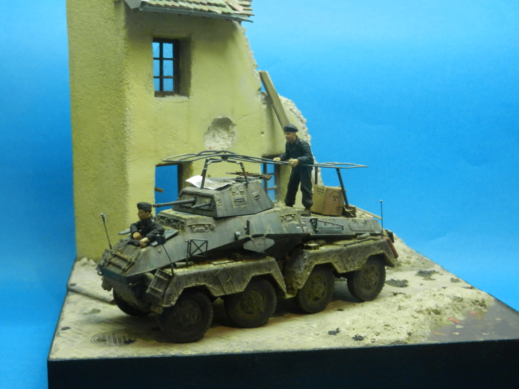 diorama - Diorama SDKFZ 232 (suite et fin) Dscn3613