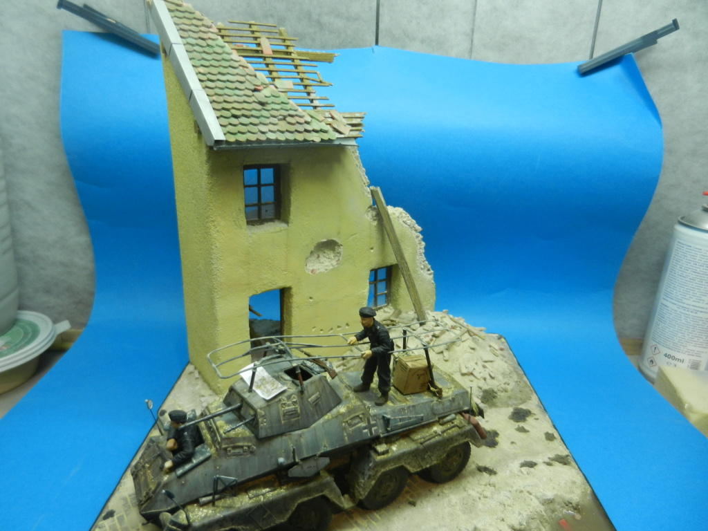 diorama - Diorama SDKFZ 232 (suite et fin) Dscn3619