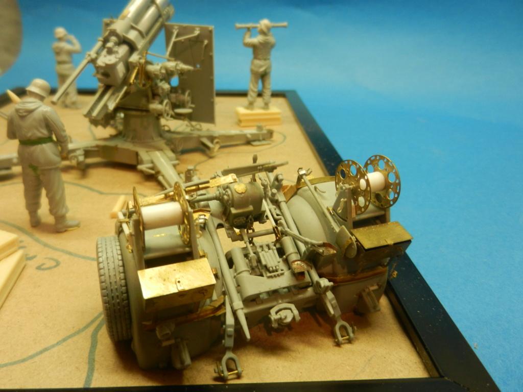 Artillery canone 88mm flak 36/37 Dscn3627