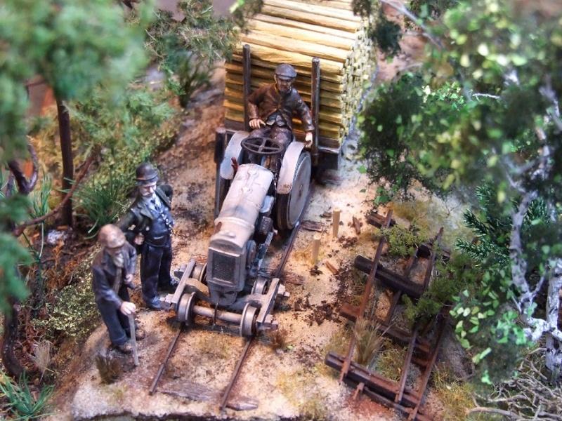Sur la ligne forestière Contaut le Huga Ancien10