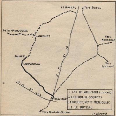 Chemin de fer Economique & Forestier des Landes de Gascogne. Image10