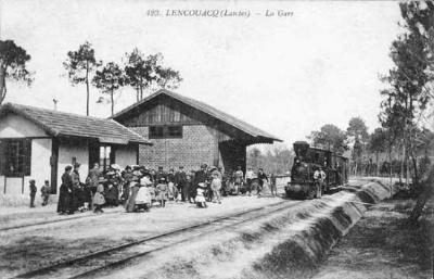 Chemin de fer Economique & Forestier des Landes de Gascogne. Imagec10