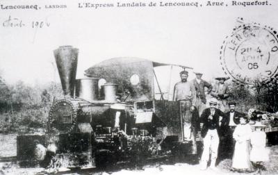 Chemin de fer Economique & Forestier des Landes de Gascogne. Imagee10