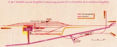 Chemin de fer Economique & Forestier des Landes de Gascogne. Imagev10