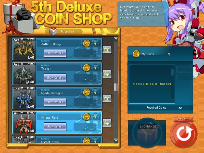 What you got from the 5th anniversary shop? Screen10